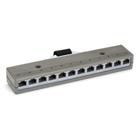 10BASE-T Harmonica, (12) RJ-45 4-Wire Female, (1) Telco 50 Male