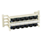 Prewired CAT5, RJ-45, 110 Block with Universal Wiring - 100-Pair, 12-Port
