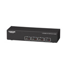 DVI Switch with Audio and Serial Control - 4-Channel