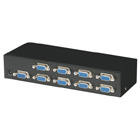 Compact VGA Video Splitter, 8-Channel