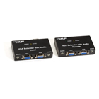 VGA Extender Kit with Audio, 2-Port Local, 2-Port Remote