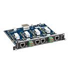 Modular Video Matrix Switcher Output Card - 4K, RJ-45, Analog Audio, RS-232
