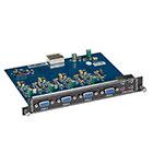 Modular Video Matrix Switcher Output Card - VGA, Audio