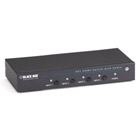 4 x 1 HDMI Switch with 3.5-mm Audio & Serial Control