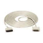 Laser-Printer (25-Conductor) Cable, Centronics Male/DB25 Male, 25-ft. (7.6-m)