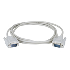 DB9 Serial Extension Cable, Male/Male, 25-ft. (7.6-m)