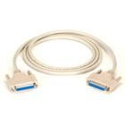 DB25 Extension Cable, DB25 Female, DB25 Female, 6-ft. (1.8-m)