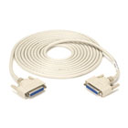 DB25 Extension Cable, DB25 Female, DB25 Female, 15-ft. (4.5-m)