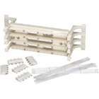 CAT6 Wiring Block Kit, 64-Pair