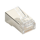 Black Box Connect CAT5e RJ-45 Modular Plugs - Shielded, 50-Pack