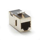 CAT6A Shielded Keystone Coupler, 10-Pack
