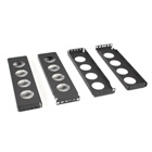 Center-Mount Conversion Brackets, 2U