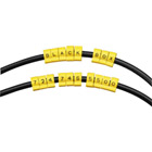 Snap-Lock Cable IDs, Alpha Marker Letter O, 10-Pack
