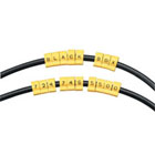 Snap-Lock Cable IDs, Alpha Marker Letter U, 10-Pack