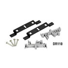 DIN Rail Mounting Kit for 2- or 4-Port USB Hub