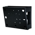 Peerless Flat/Tilt Wall Mount with Media Device Storage