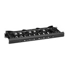 Elite Horizontal Cable Manager - Single-Sided, 1U