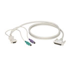 CPU/Server to ServSwitch Cable (CPU Cable), PS/2 Standard, 20-ft. (6.0-m)