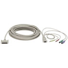 CPU/Server to ServSwitch Cable (CPU Cable) with Audio, PC, PS/2 Standard, 10-ft. (3.0-m)