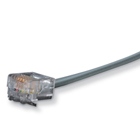 RJ-11 Modular Cable, 4-Wire, Straight-Pinning, 7-ft. (2.1-m)