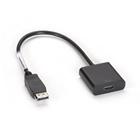 DisplayPort Adapter - 32 AWG, DisplayPort Male to HDMI Female