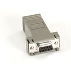 MicroSwitch Adapter, AT (DB9 F–RJ-45)