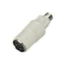 Mini DIN Adapter, 5-Pin DIN Female to 6-Pin Mini DIN Male