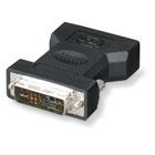 Digital Visual Interface (DVI) Adapters, DVI-I Male–VGA HD15 Female