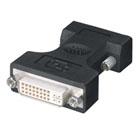 Digital Visual Interface (DVI) Adapter, DVI-I Female–VGA HD15 Male