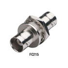 Feed-Through Coax Connectors, Single-Pack