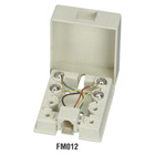Wallmount Blocks, (1) RJ-11, 4-Wire