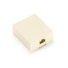 Wallmount Block, Screw-Down Terminal Block, Voice Only, (1) RJ-45, 8-Wire