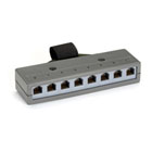 Category 3 Cluster Bar, (8) RJ-11, USOC, 6-Wire Ports, (1) Telco 50 Female