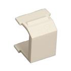 GigaPlus Blank Wallplate Inserts, Office White, 20-Pack