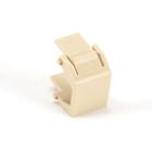 GigaPlus Blank Wallplate Insert, Ivory, 20-Pack