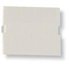 GigaStation+ Blank, 1.5 Unit High, Office White, 5-Pack