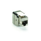 CAT6a Shielded Jack - T568B Wiring, 4-Pair