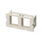 GigaStation2 Surface-Mount Housing Insert, 2-Port