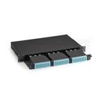 High-Density Fiber Optic Enclosure, (3) HD Slots in 1U