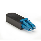 Fiber Optic Loopback, Single-Mode, Blue, LC