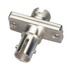 Fiber Optic Adapter, ST–FC, Multimode, Simplex, Rectangular Mounting