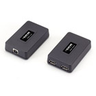 USB 1.1 and 2.0 CAT5e Extender - 2-Port