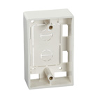Surface-Mount Box, Single-Gang, Office White