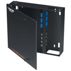 Fiber Wall Cabinet, Open-Style, Unloaded, Accepts 4 Adapter Panels