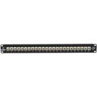 Black Box Connect Fiber Patch Panel Kit – (24) Simplex ST Adapters