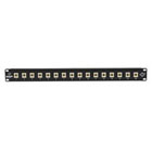 Black Box Connect Fiber Patch Panel Kit – (16) Simplex SC Adapters