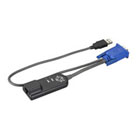 ServSelect USB  Virtual Media Module, (1) RJ-45 Male, (1) USB Type A Male
