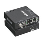 Extreme Media Converter Switch, 10-/100-Mbps Copper to 100-Mbps Fiber, Multimode, 24-VDC, ST