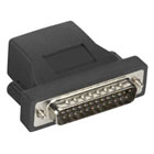 Secure Device Server Serial Adapter, RJ-45 to Modem DB25 Male