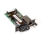 Modular Media Converter Conversion Module, Gigabit Copper to Duplex Fiber, Multimode 850-nm, 1000BASE-SX, SC, 300 m